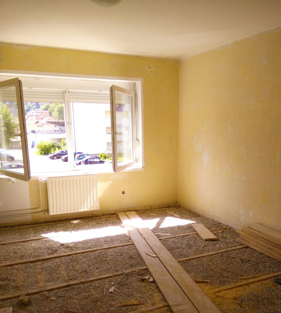 Prenova stanovanja: prej in potem.