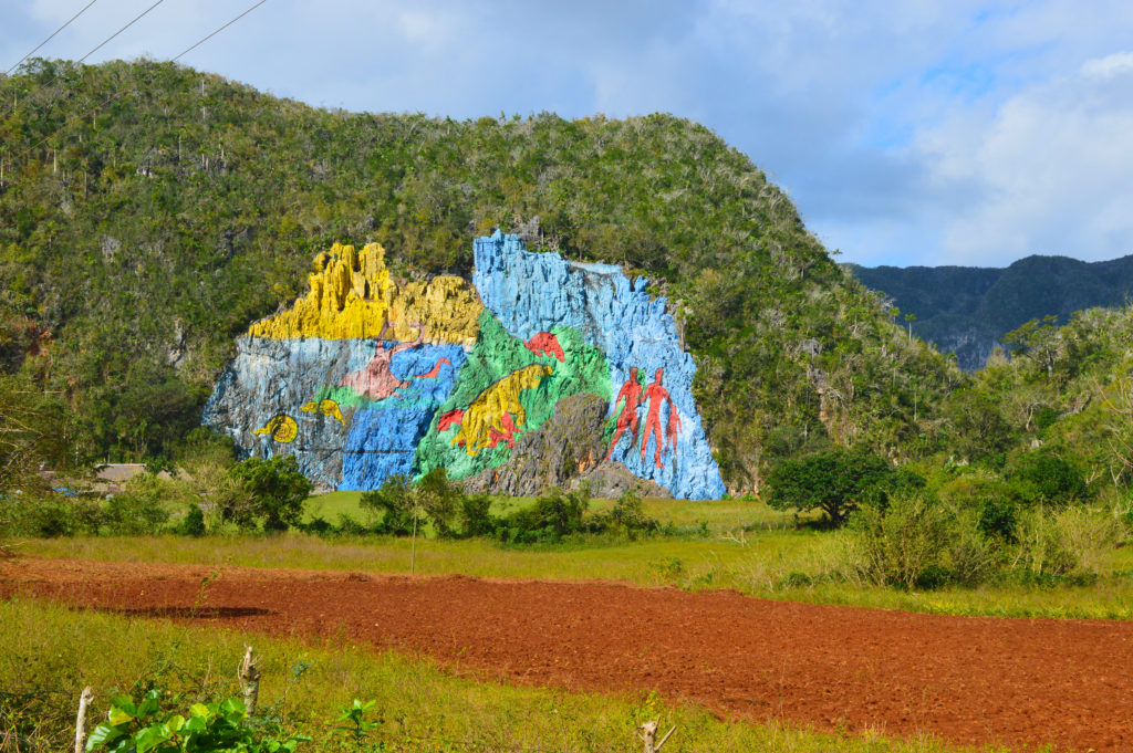 Kuba_Vinales_Mural de la prehistoria