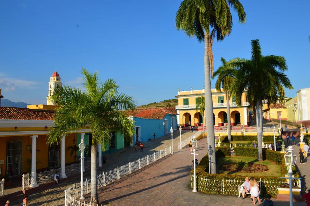 Plaza Armas Trinidad