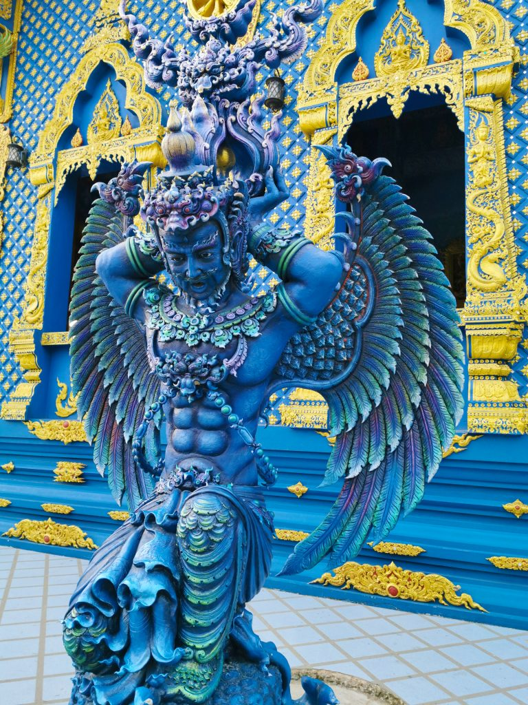 Chiang rai The blue temple