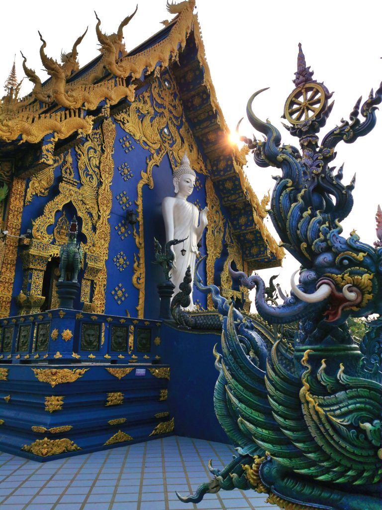 Blue temple Tajska