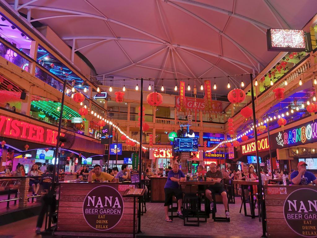 Red light district - Nana Plaza, Soi Cowboy
