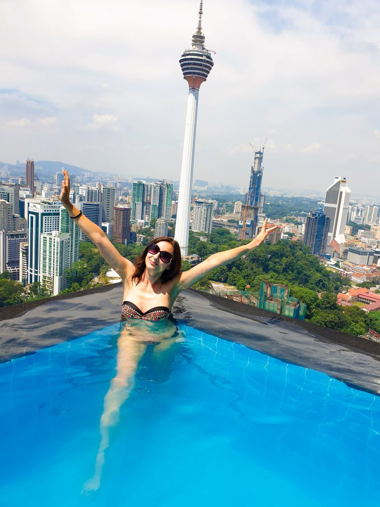Kuala Lumpur The Face Suites infinity pool